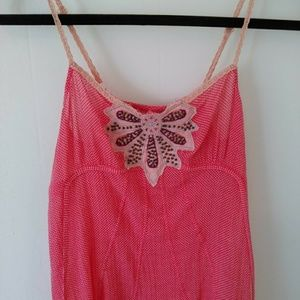 Free People coral tank